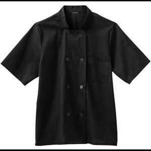 Five Star Chef Apparel Black Shirt M NWT